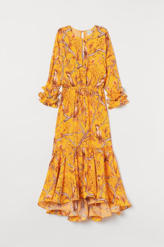 Maxi vestido H&M de Johanna Ortiz