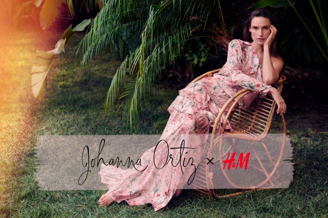 Johanna Ortiz x HM la colaboración más esperada.