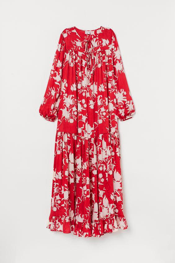 Vestido vaporoso JO x H&M