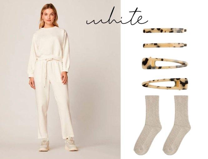 White home wear cuarentena