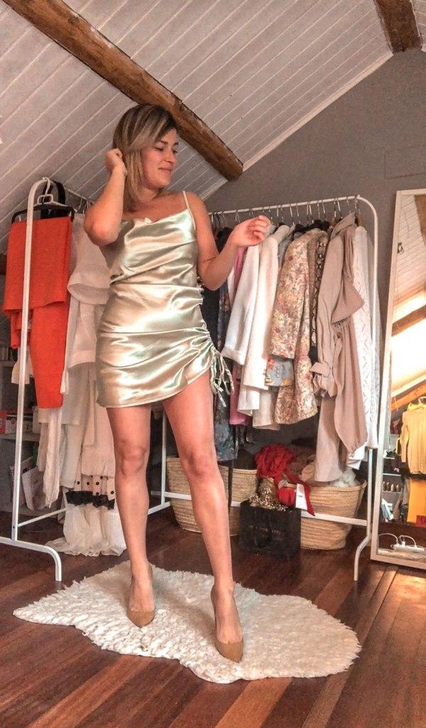 Vestido lencero Femme Luxe