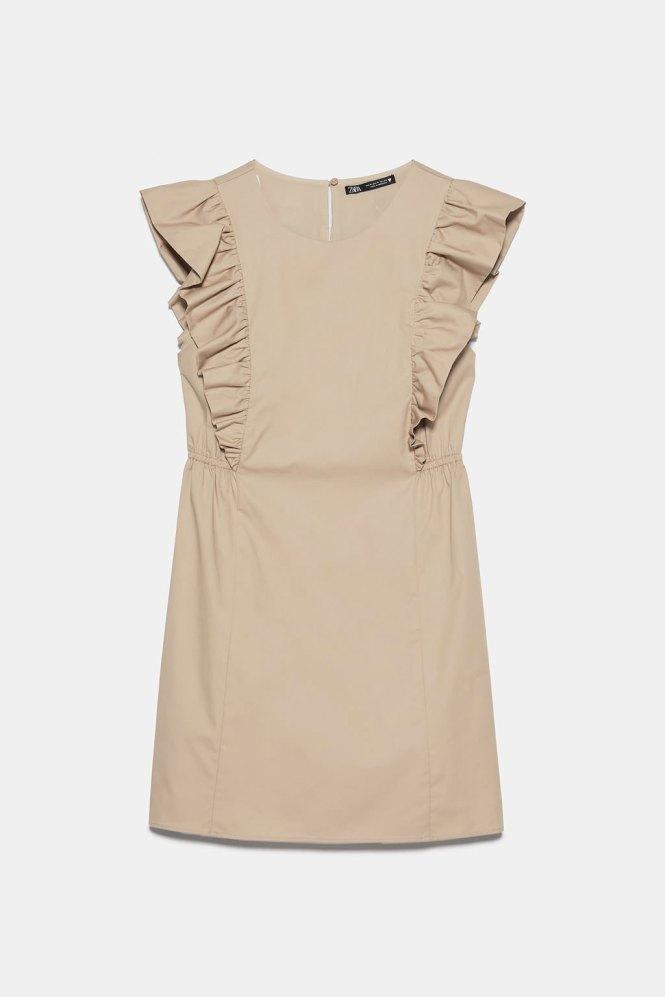 Vestido básico Zara por menos de 20€