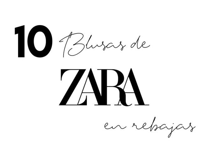10 Blusas de Zara en rebajas