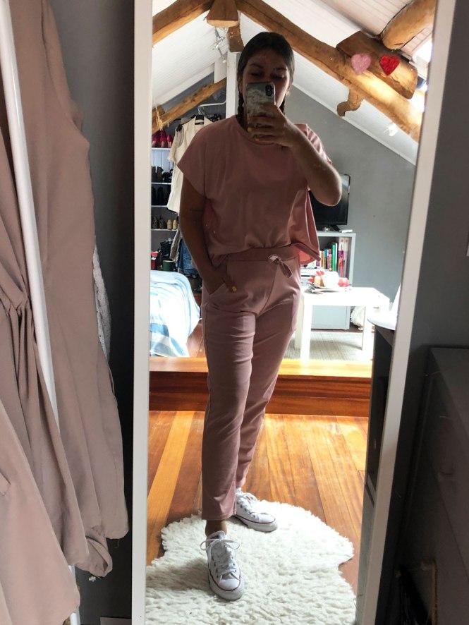 Loungewear rosa Femme Luxe