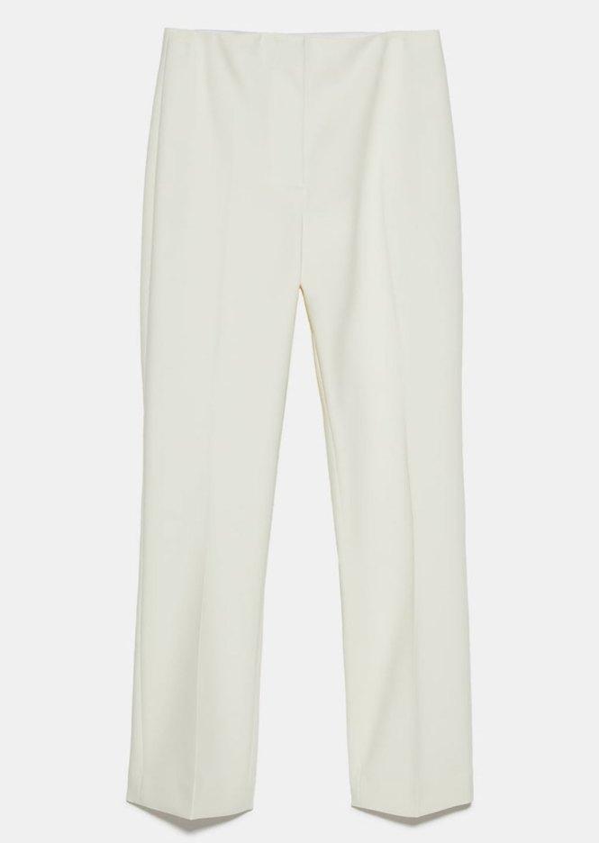 Pantalón mini flare Zara