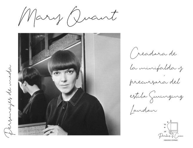 Mary Quant un nuevo personaje de moda