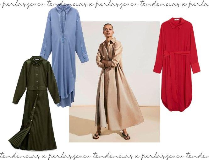 Vestidos camiseros - Shopping