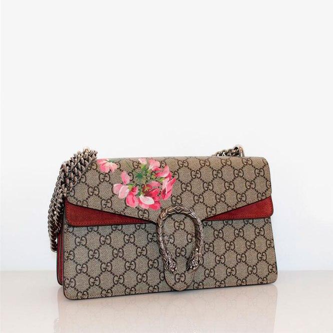 Bolso de la firma Gucci modelo Dionyssus Blossom en Terapia Vintage