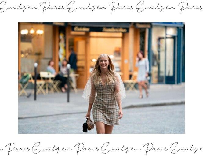 El estilo francés clásico de Emily en París.