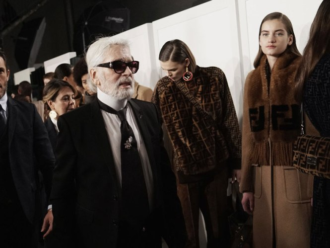 Karl Lagerfeld para Fendi