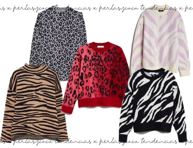 Tendencias otoño/invierno 20/21 Jersey Animal print