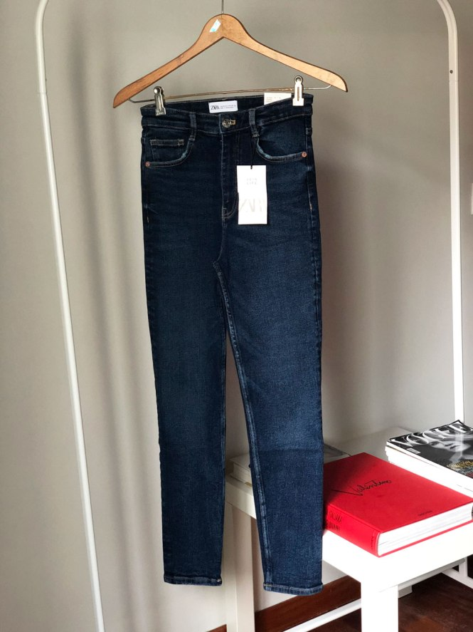 Jeans hi rise skinny