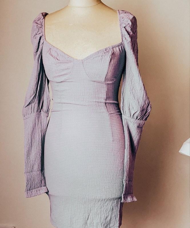 Vestidos Femme Luxe - Bodycon Lilac