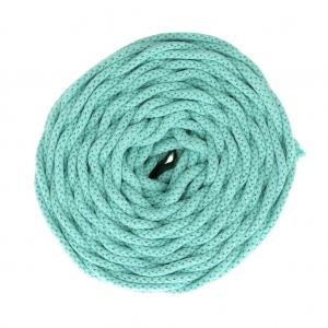 bobine de cordon en coton pour macrame cotton air 5 mm mint x 50m