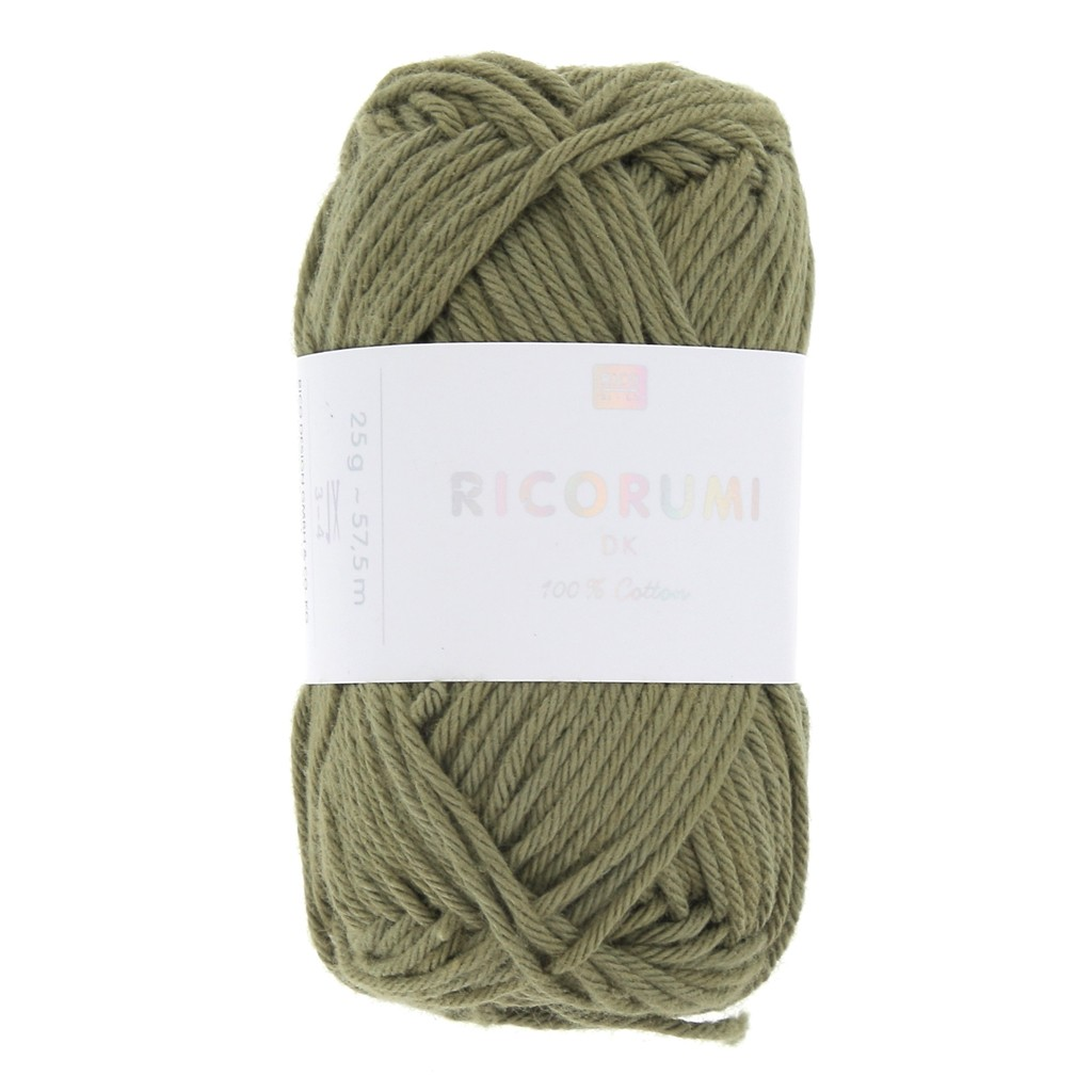coton ricorumi par rico design pour amigurumi kaki 078 x 25g
