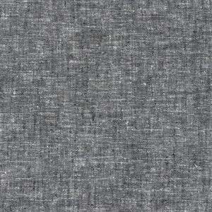 tissu melange lin et coton gris x10cm