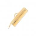 Embout pour tissage de perles 16 mm doré x1