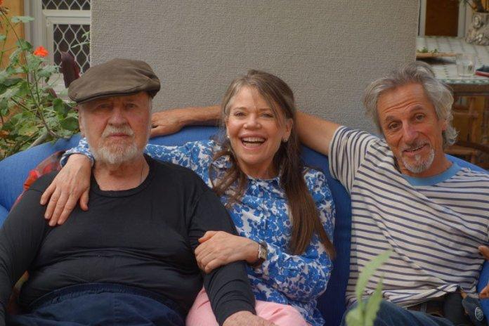 Bill Mollison, Lisa Mollison and Micheal Fanton