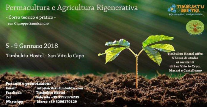 Permacultura Agricoltura rigenerativa sicilia