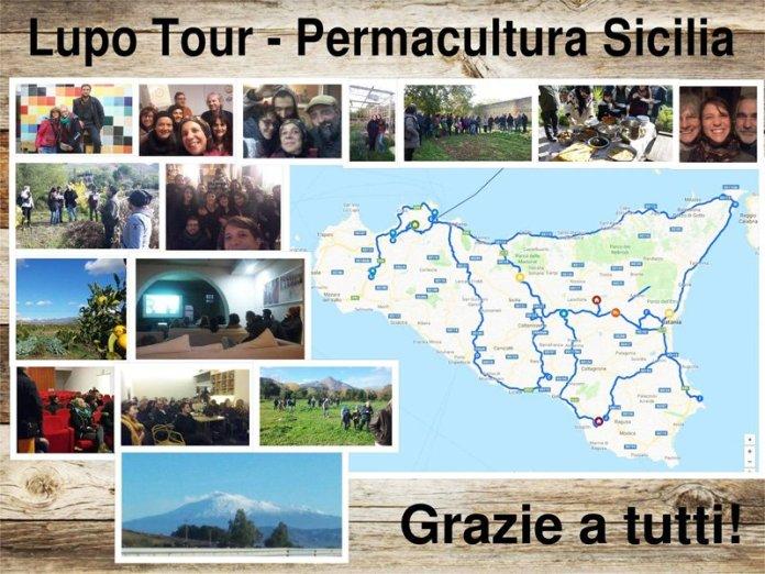 Lupo tour permacultura sicilia