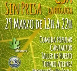 Domingo Sin Prisa - 29 de Marzo 2015