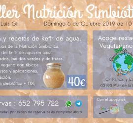 Taller de Nutrición SImbiótica: Kéfir de Agua