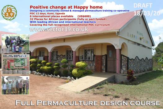 full permaculture design course led by Sector39 permaculture. Steve Jones and partners