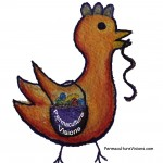 chicken reap Permaculture visions