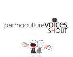 Permaculture Voices Shout - Small