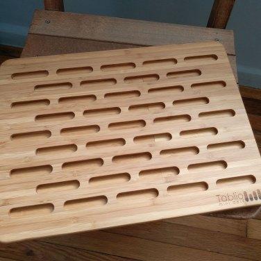 Culprit 2 - A bamboo laptop stand