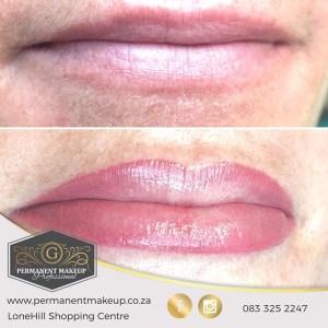 Super soft natural ombre lips