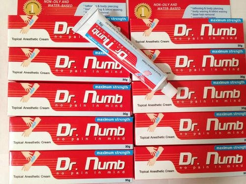 Healthy Tattoo Topical Anesthetic 5% Lidocaine Dr Numb Tattoo Cream