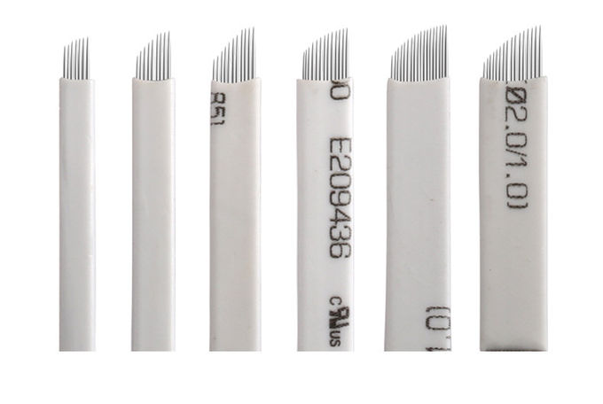Medical Professional 7pins / 9pin Microblading Blades For Permanent Make Up