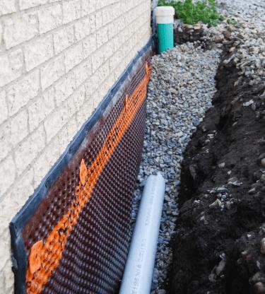 basement drainage systems interior