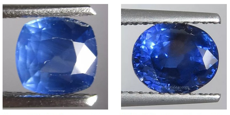 Jual batu sapphire asli di Medan