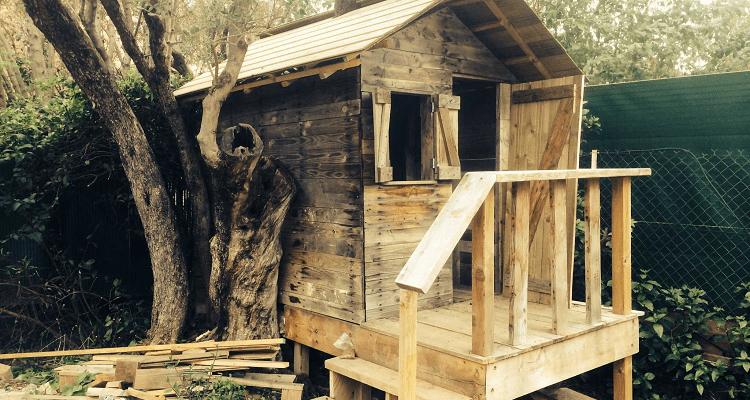 Une Cabane En Palette Permatheque