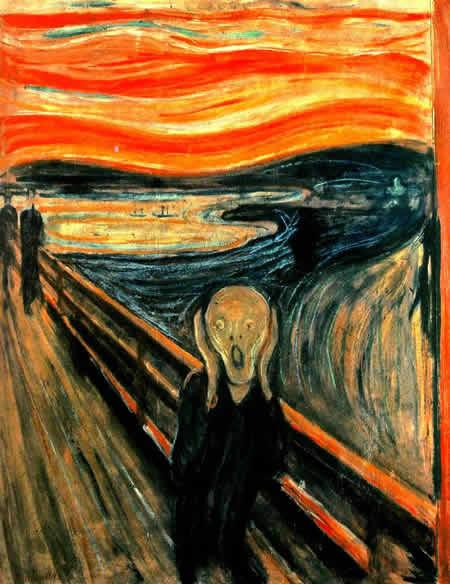 Edvard Munch, 1893 - Oihua