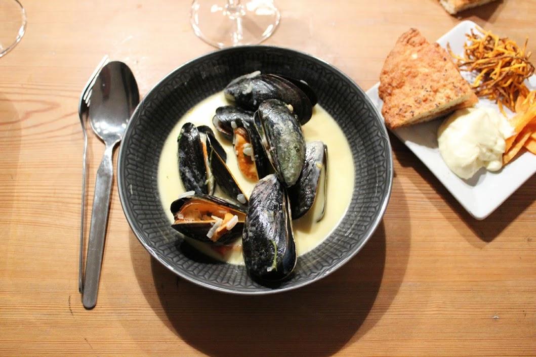 tillbehör till musslor