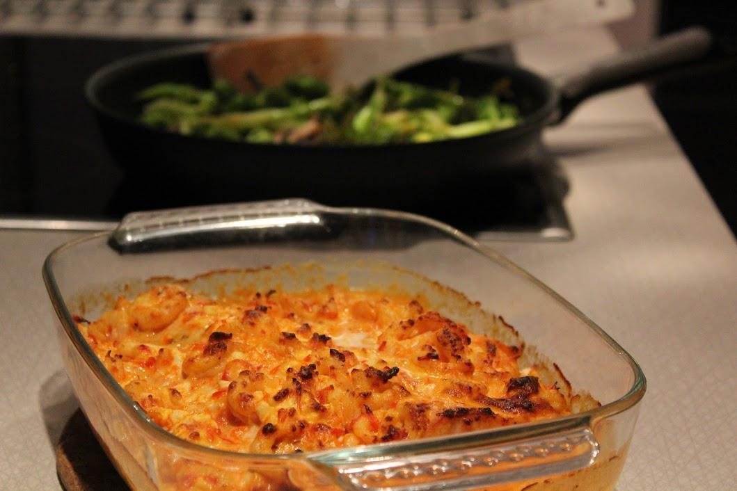 Tisdagslax med broccoli