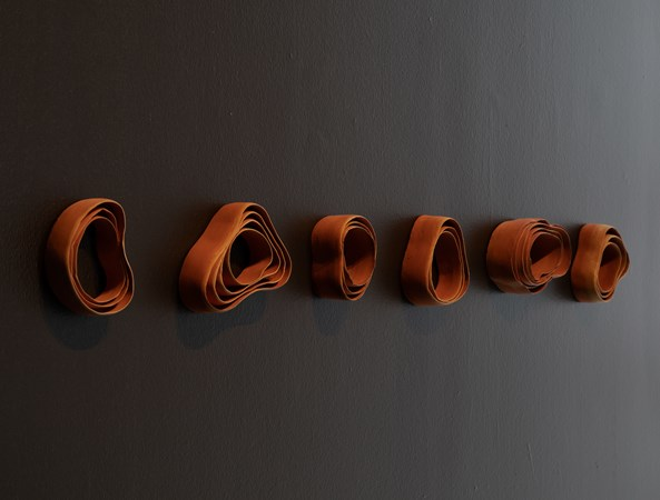 Loop series, wall pieces