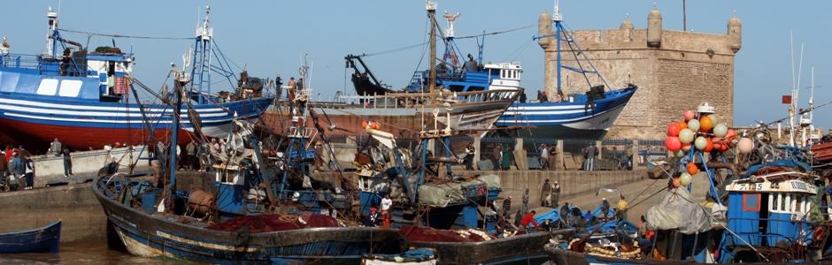 Port w As-Sawirze (fot. Ewa Serwicka)