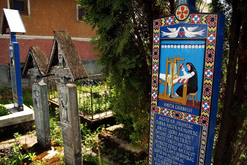 """<strong>5. Rumunia, Sapanta. </strong> Wesoły Cmentarz to prawdziwa baza informacji o jego """"lokatorach"""". (Fot. Grzegorz Król)"""