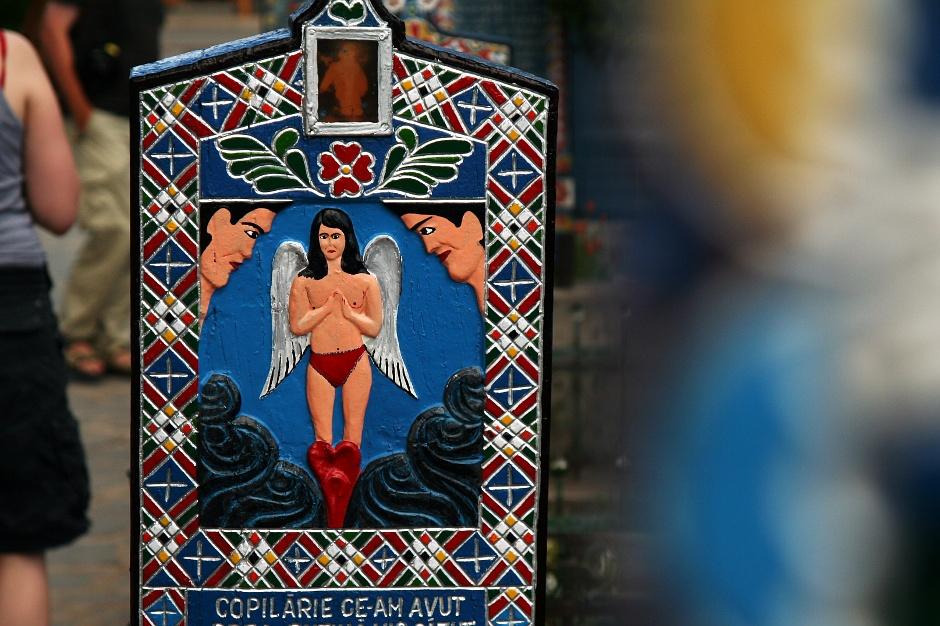 <strong>6. Rumunia, Sapanta. </strong> Mały aniołem w czerwonych kozaczkach. (Fot. Grzegorz Król)