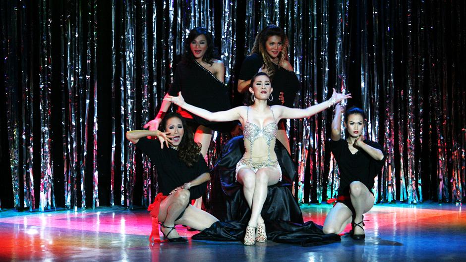 Tajlandia, Bangkok - Ladyboy Show