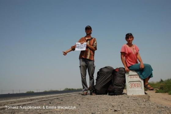 Emil i Tomek w Azji
