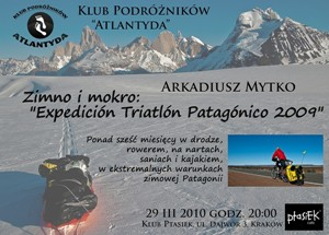Plakat triatlon