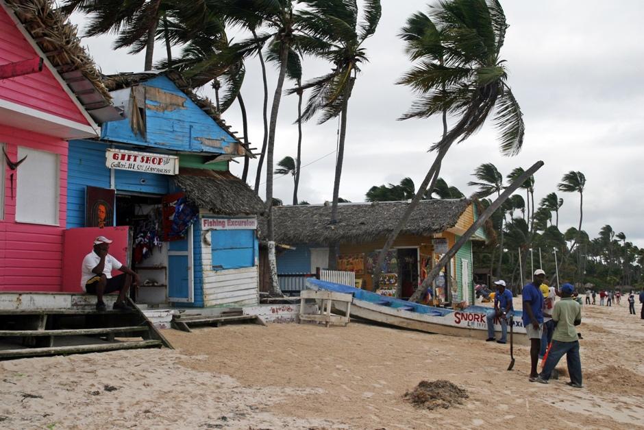 2. DOMINIKANA, Punta Cana. El Cortecito w Bavaro położone jest trochę na uboczu od wielkich kombinatów hotelowych typu Iberostar. Całkiem przyjemne miejsce. (Fot. Ewa Serwicka)