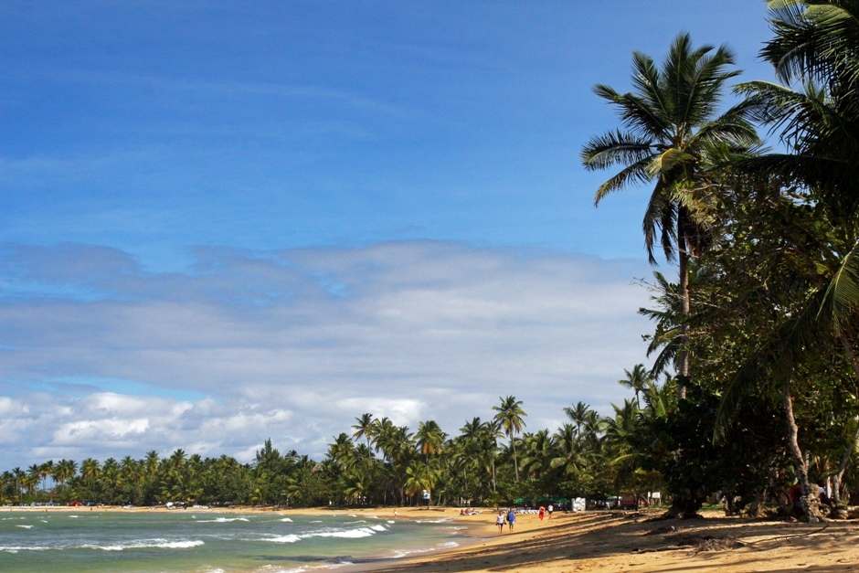 9. DOMINIKANA, Las Terrenas. Wypoczynek na rajskiej plaży. (Fot. Ewa Serwicka)