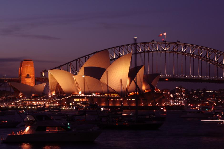 6. AUSTRALIA, Sydney. Dwie lokalne ikony - most i opera. (Fot. Magda Biskup)