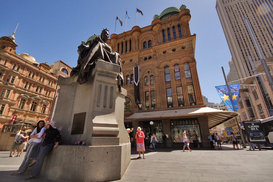 10. AUSTRALIA, Sydney. Pomnik królowej Wiktorii. (Fot. Magda Biskup)